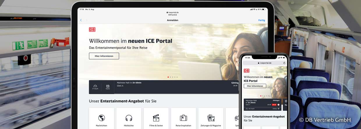 Web-Frontend Developer IC / ICE Portal